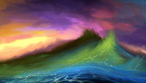 Seascape by Aram Sarkisian