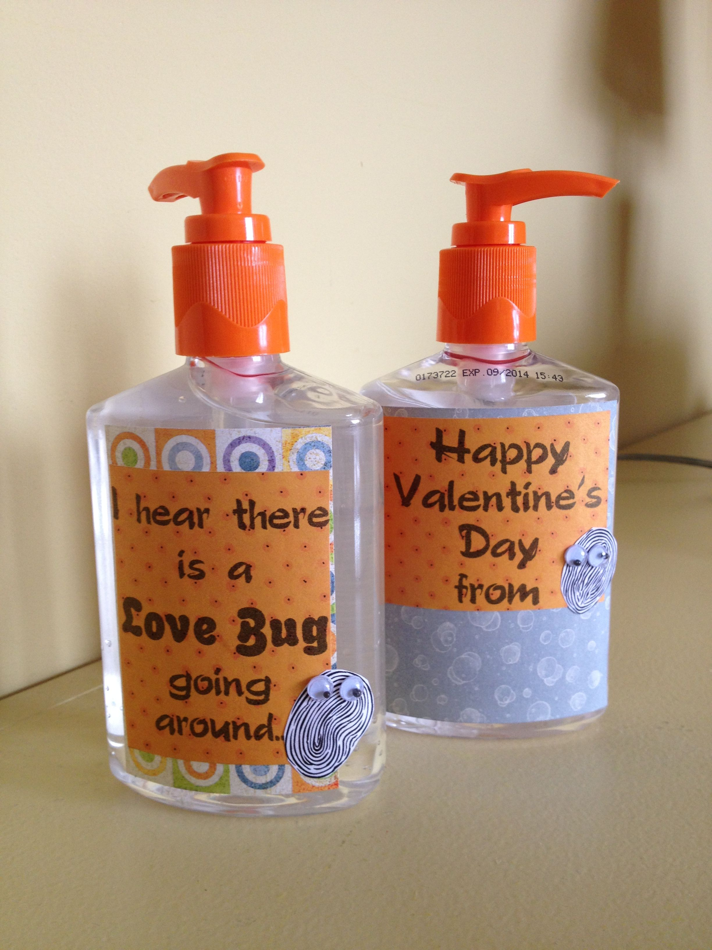 Hand Sanitizer Teacher Gift For Valentine S Day Valentine Gifts