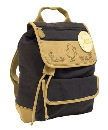 9baf829f56cb Take a look at this Navy Winnie the Pooh Diaper Backpack by Blow-Out on   zulily today!