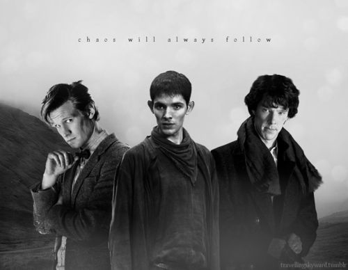 Image result for sherlock and doctor who