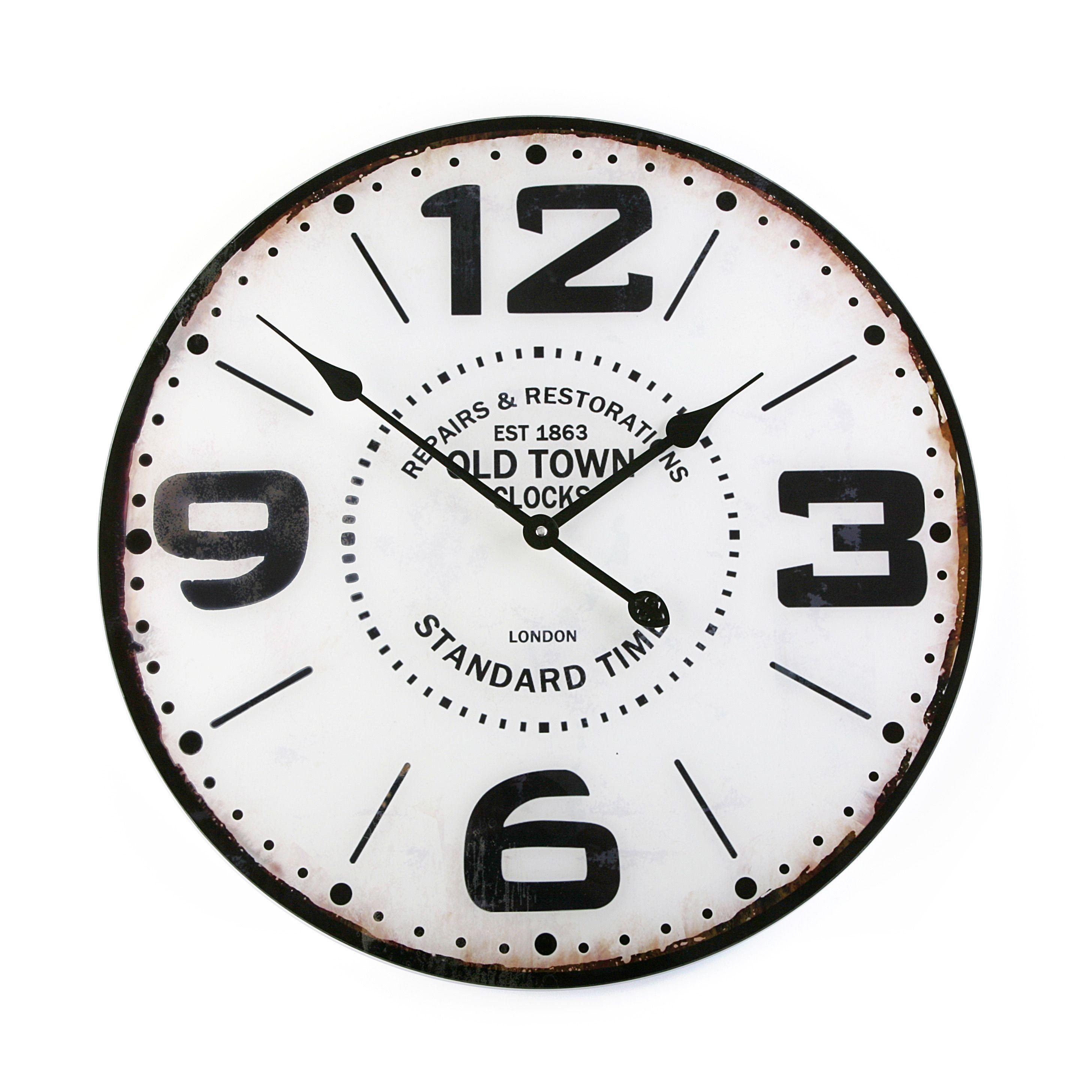 Reloj de pared vintage reloj vintage casa versa - Reloj pared vintage ...