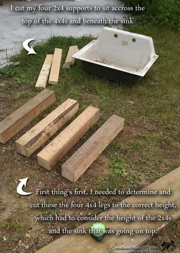 How to Build your own kitchen sink base! Do it yourself, wood