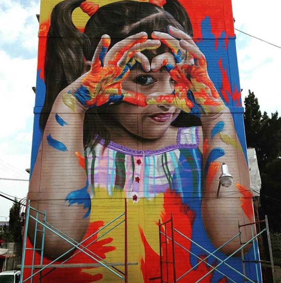 Koka Lep Ogt Pekatore in Iztapalapa, Mexico, 2016 | STREET ART in