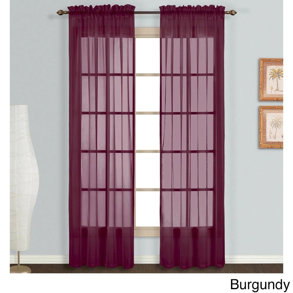 Types Of Curtains » Learn More | Sheer curtain panels ...