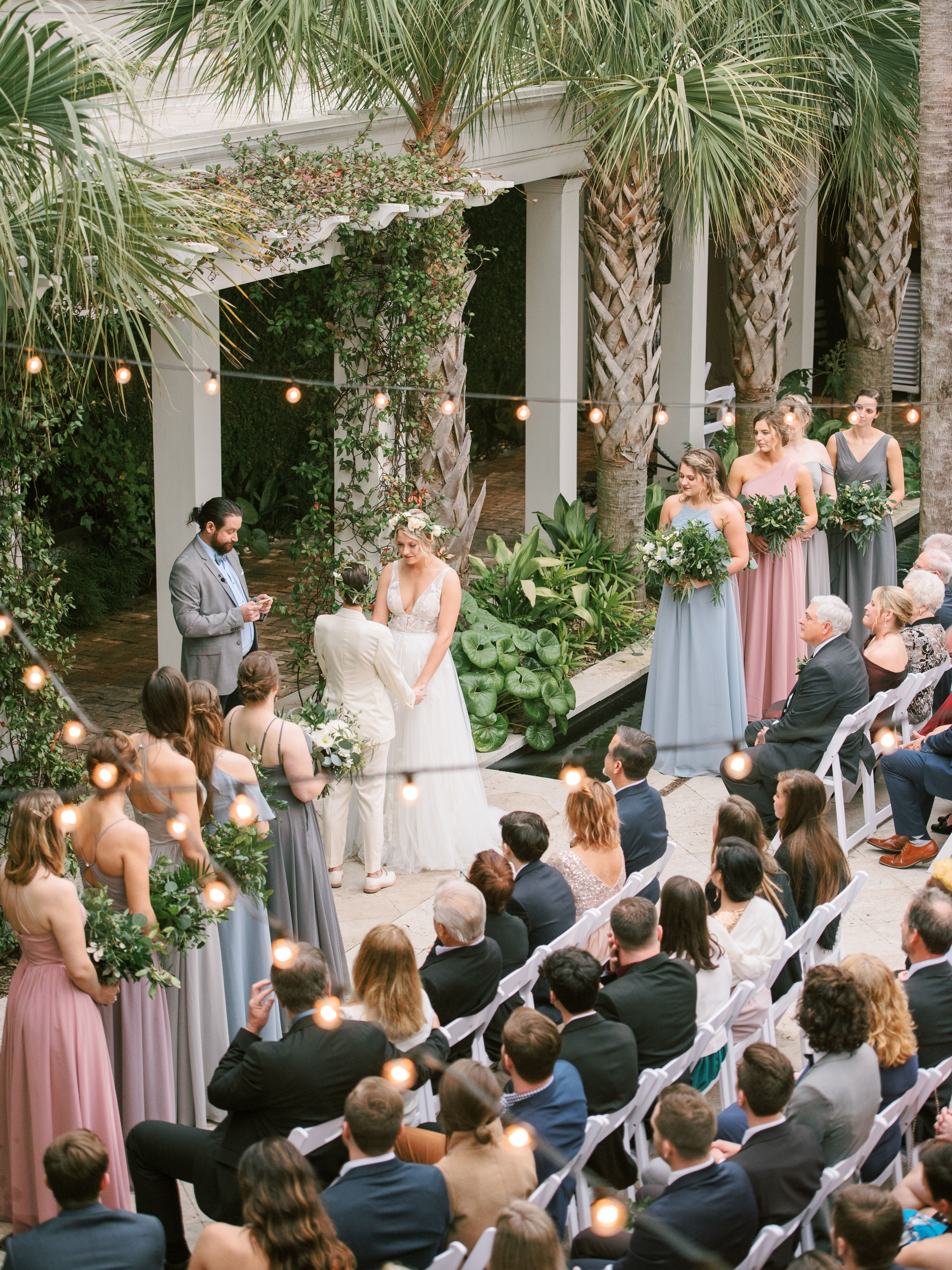 Photo of Courtyard ceremony at Cannon Green