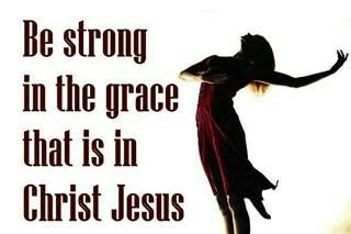 Be Strong In Christ