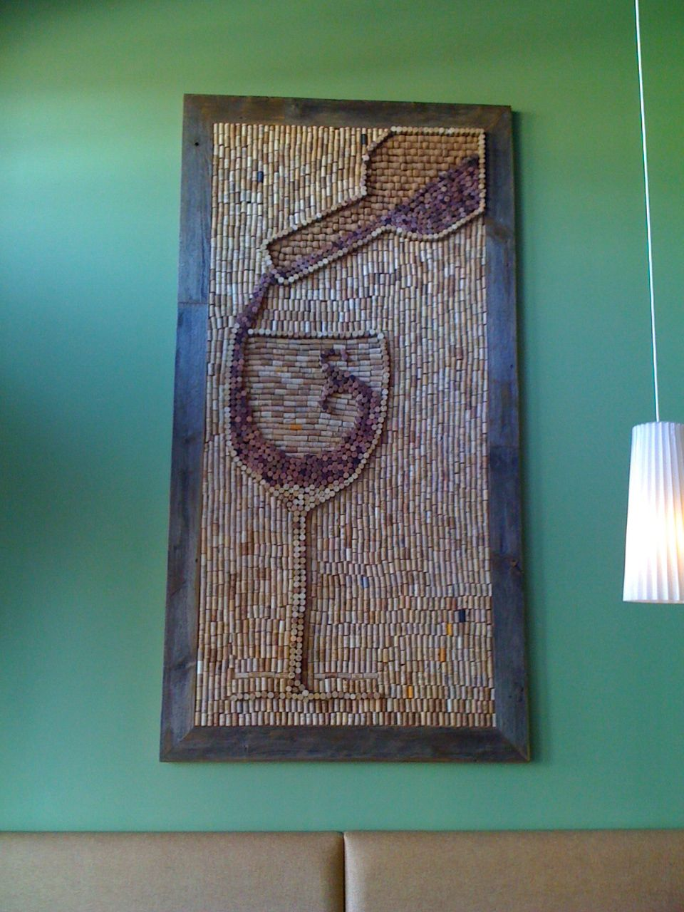 Wine Cork Art - I don't think I'll ever have enough corks to do this, but it is amazing!