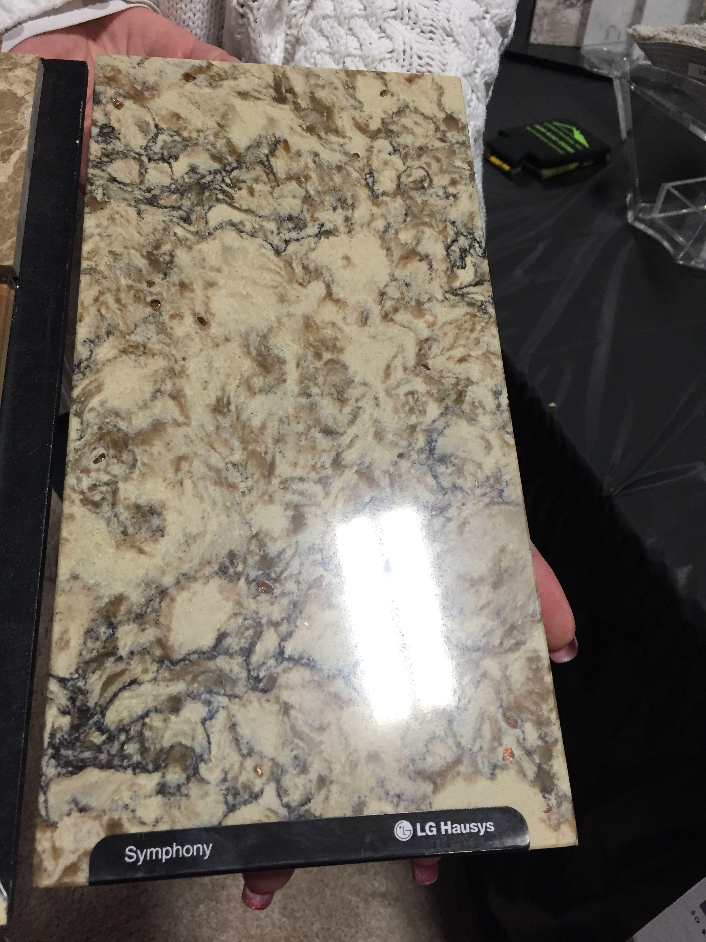 Quartz Versus Granite Kitchen Countertops Quartz Countertop Symphony Lg Hausys Saw At Colortile Booth At