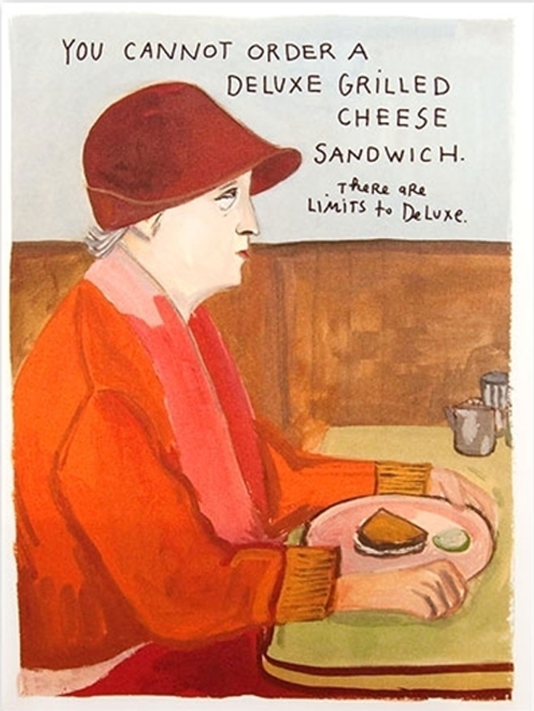 Cards by Illustrator Maira Kalman
