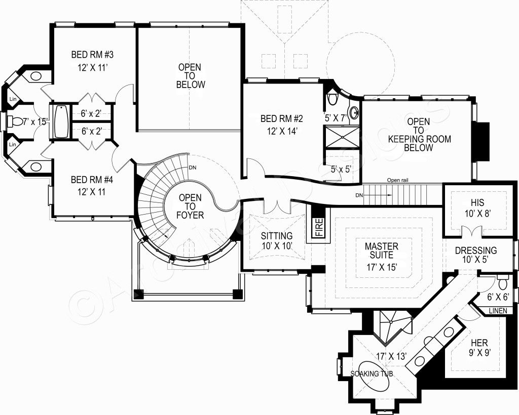 Kildare castle house plan best selling floor house plan second