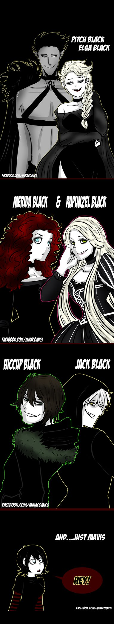 Pitch Black and The Big Six Black by mikaeriksenweiseth on deviantART ^