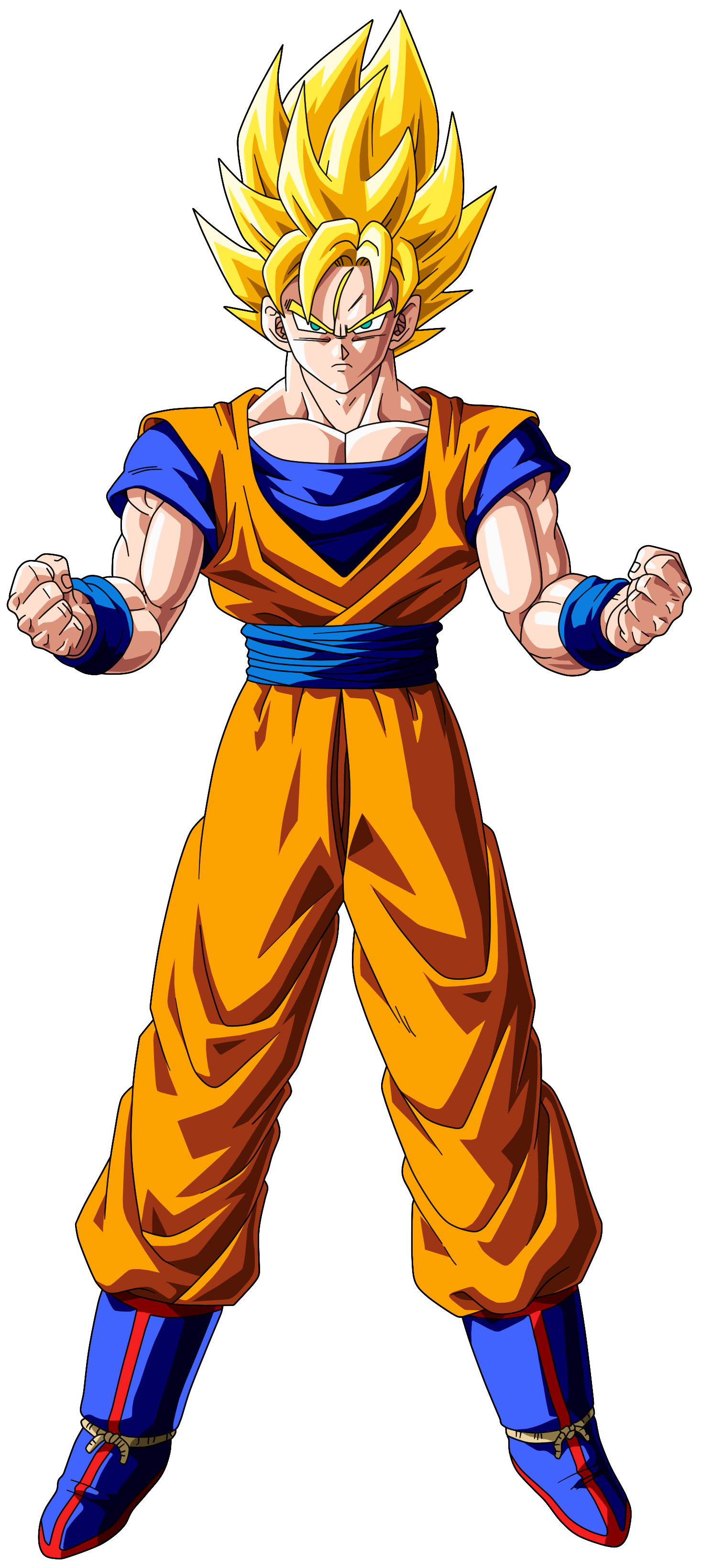 Super saiyan 1 goku google search m s ssj goku pinterest drag - Super sayen 10 ...