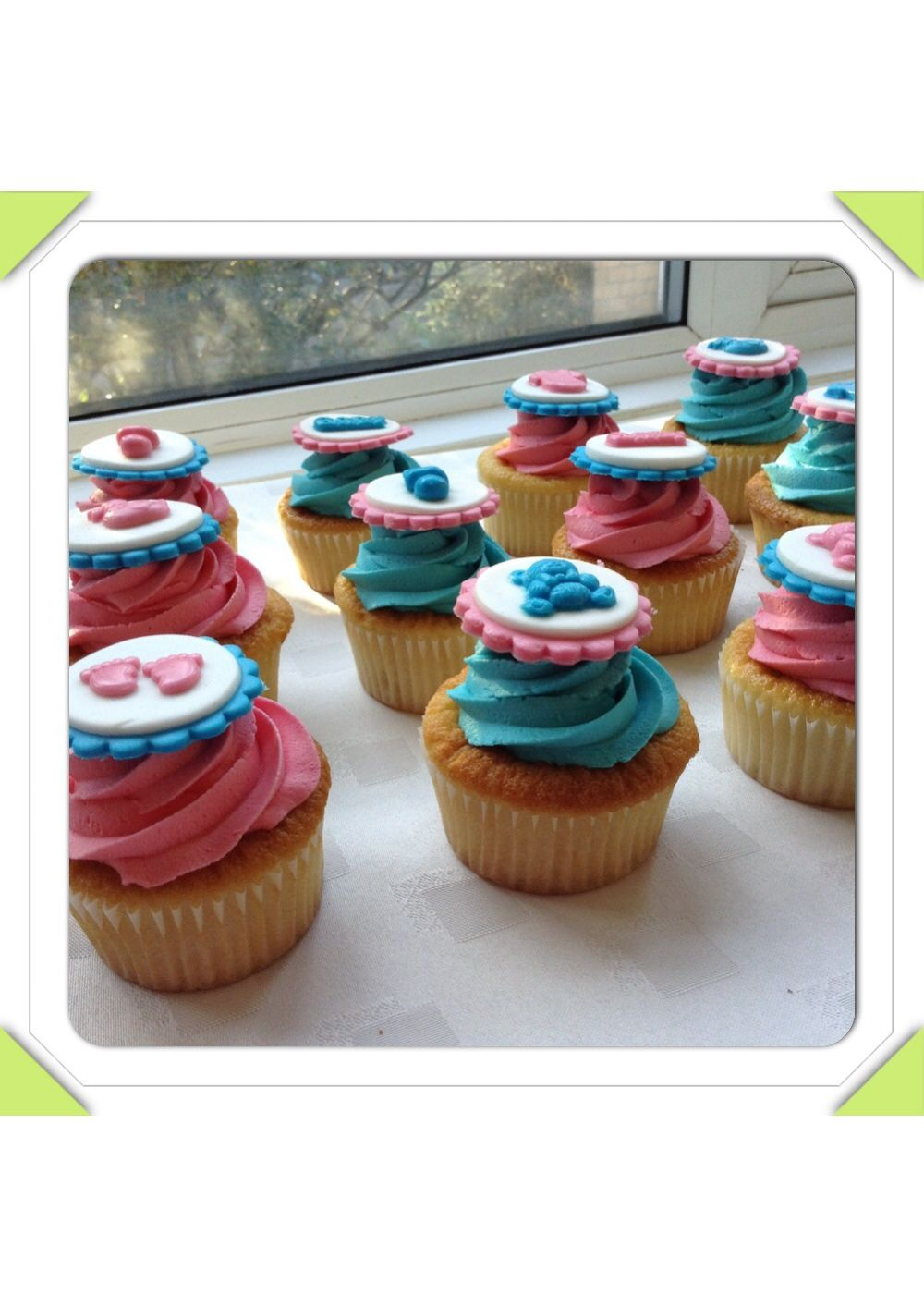 Girl? Boy? Baby shower cupcakes