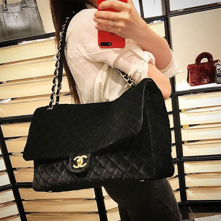 08561330b26f Chanel XXL Suede Flap Bag | beautiful | Bags, Chanel, Chanel maxi