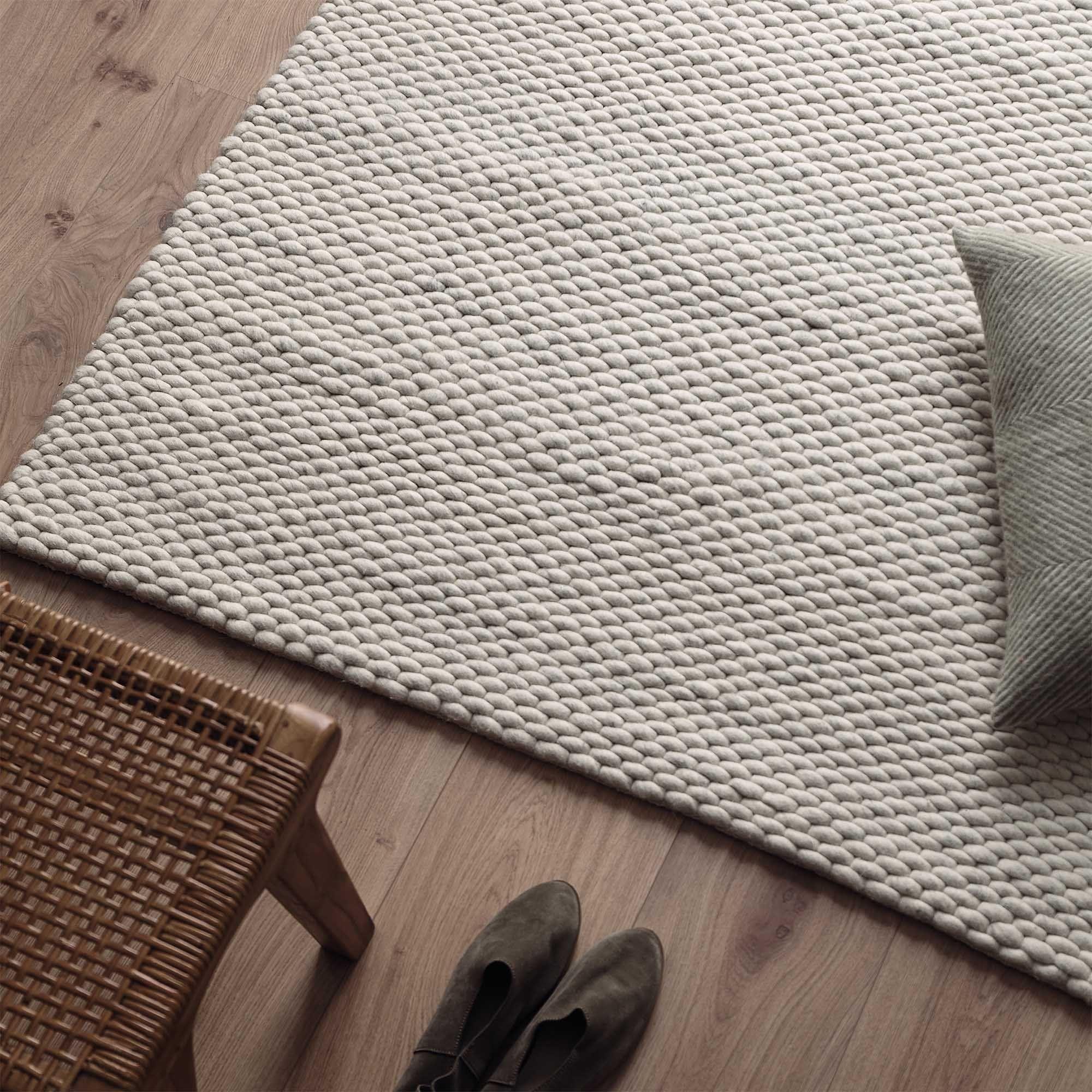 Bild von Kalu Teppich [Grau-Melange]- 140 x 200 cm [hidden]