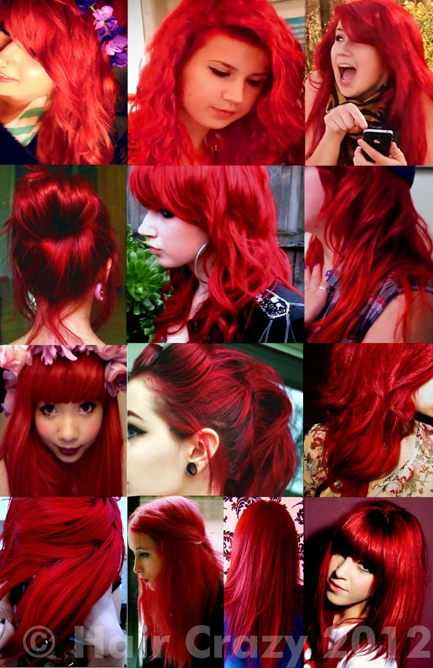 Bleaching And Dyeing Hair Bright Red Forums Dyed Red Hair Bright Red Hair Dye Bright Red Hair