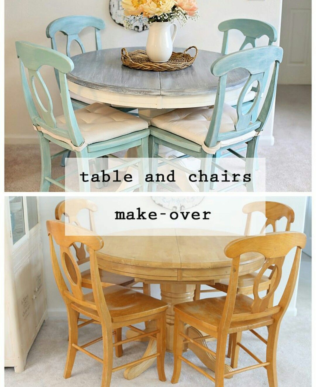 Table And Chairs Makeover Kitchen Table Makeover Furniture Makeover Diy Furniture