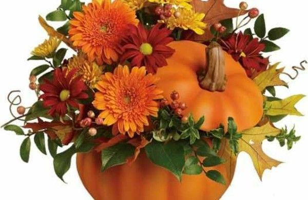herbst blumenvase blumen balkon k rbis thanksgiving and fall deco pinterest herbstblumen. Black Bedroom Furniture Sets. Home Design Ideas