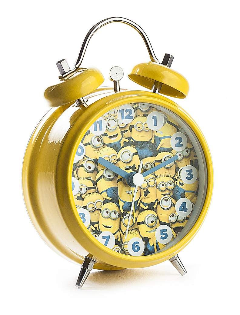 Minions Mini Twin Bell Alarm Clock   Products   Alarm clock