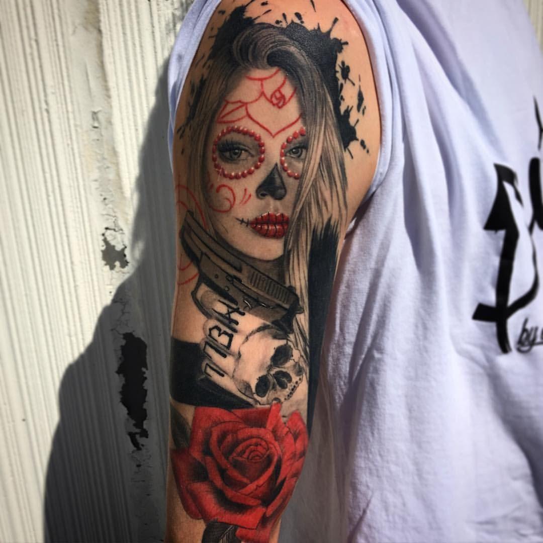 Catrina Tattoo Tatuajes De Catrinas Catrinas10 border=
