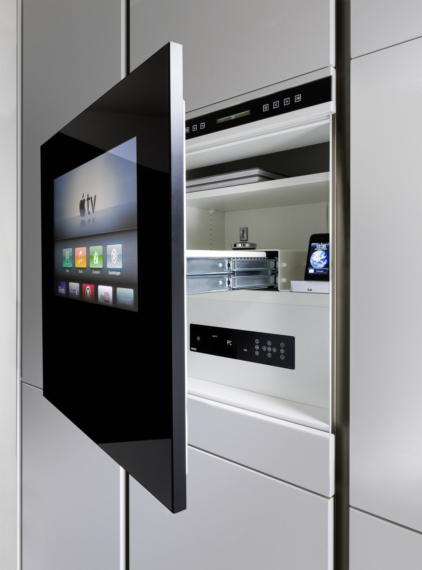 Kitchen Accessory Sliding Drawer System By Siematic In