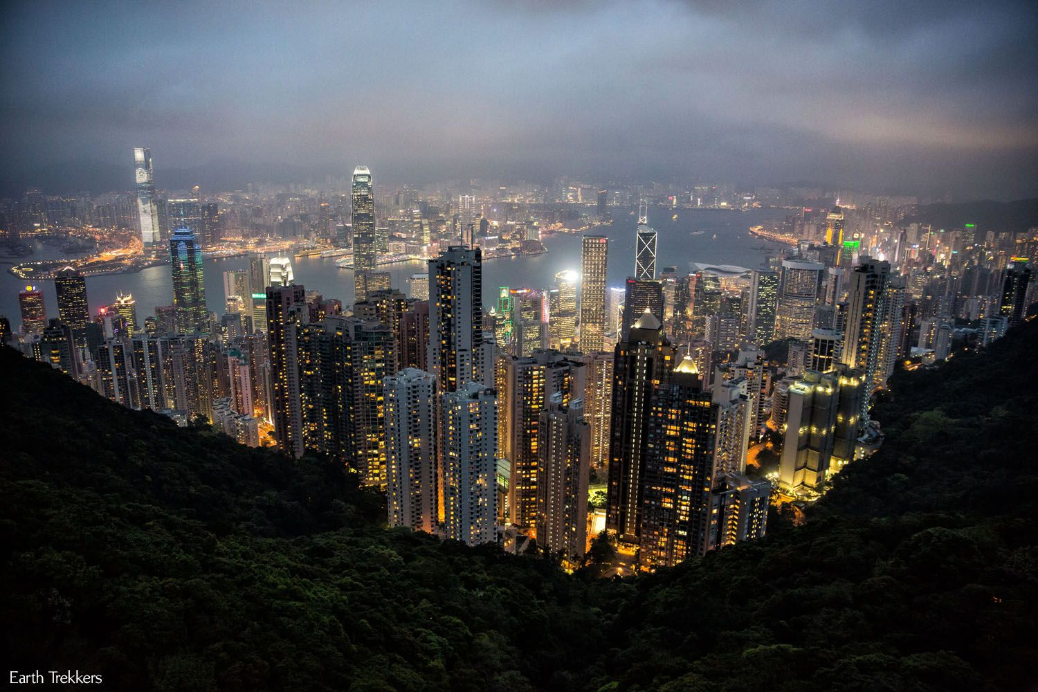 With four days in Hong Kong we took the Peak Tram to Victoria Peak, saw Mong Kok, Hong Kong Disneyland, and made a day trip to Macau.