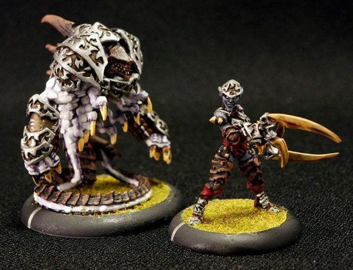 Dark Elves with Pale Blight