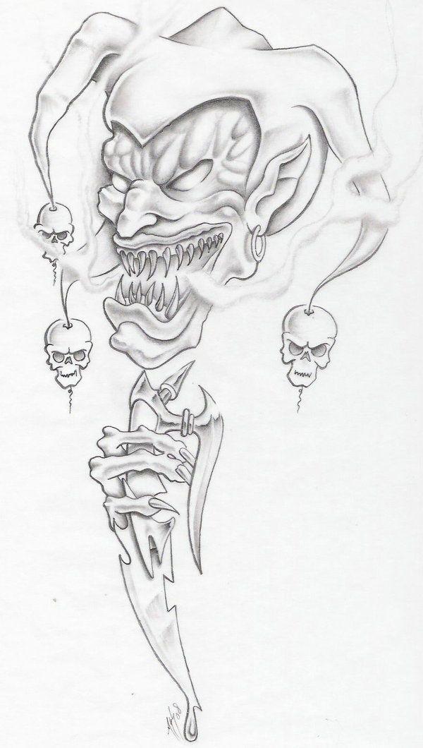 55+ Cool Joker Tattoos - AskIdeas.com