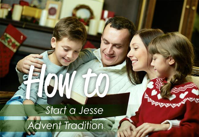 An advent tradition is an amazing way to teach your kids that Christmas is about the story of Jesus. Here's how to get one started and how to make it a life-long tradition in your family.