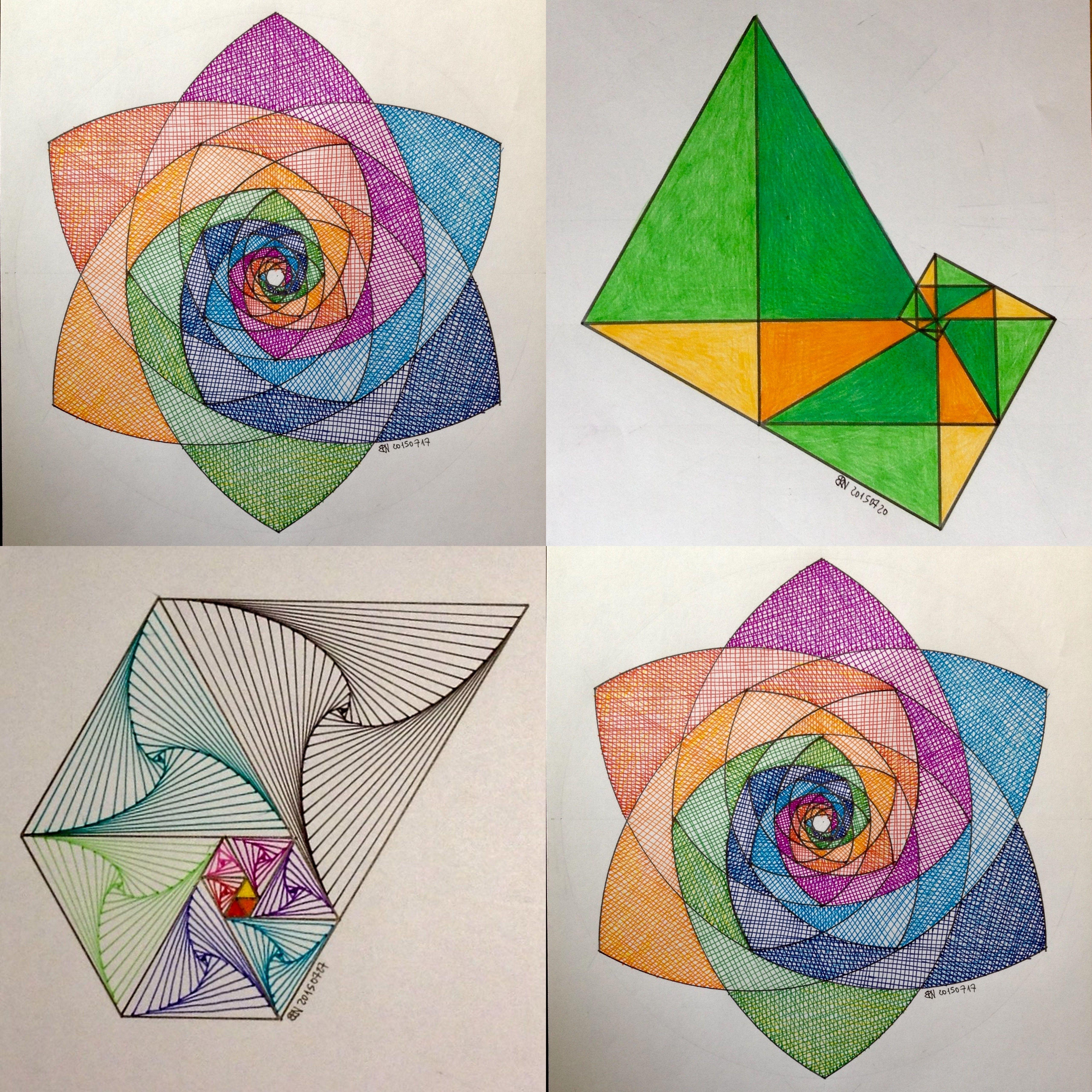 Regolo54 Impossible Geometry Symmetry Pattern