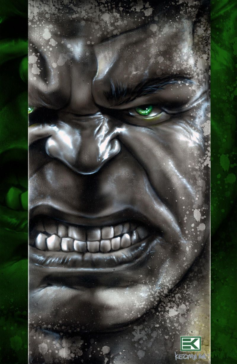 #Hulk #Fan #Art. (Avengers Assemble Portrait) By: Ellison Keomaka. (THE * 5 * STÅR * ÅWARD * OF: * AW YEAH, IT'S MAJOR ÅWESOMENESS!!!™) ÅÅÅ+