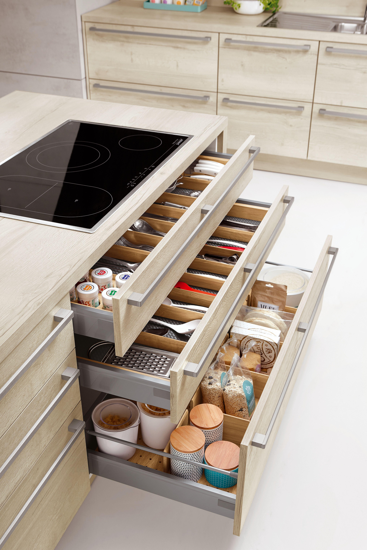 Holzeinteilungen   Cabinet design, Kitchen cabinet storage, Wall unit