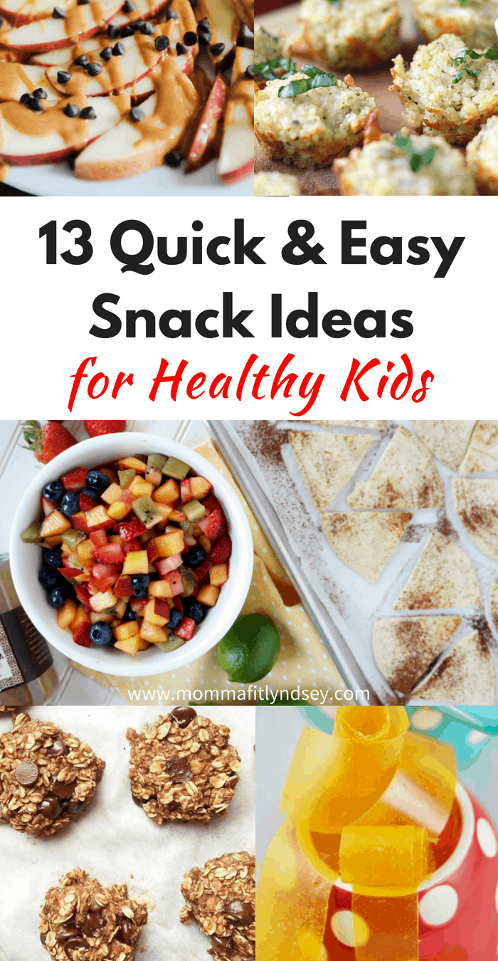 13 Kid-Friendly Healthy Snack Ideas for After School
