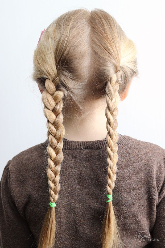 Hairstyles For School Brilliant 5 Minute School Day Hair Styles  Pinterest  Braided Pigtails Hair