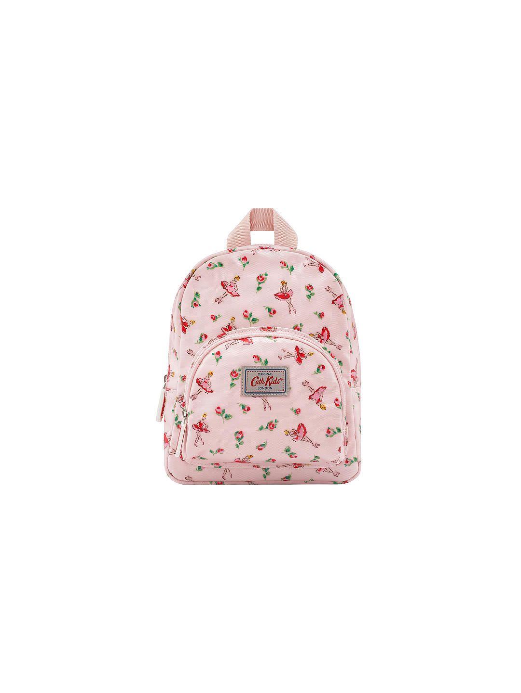 Cath kids childrenus ballerina rose mini rucksack pale pink
