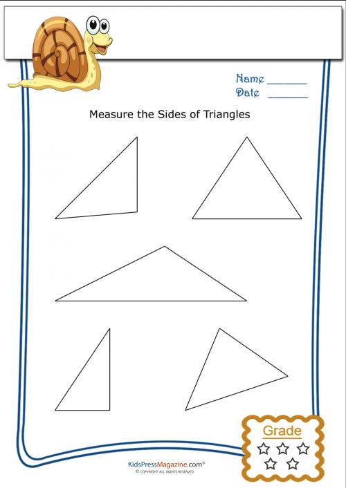 Measure Perimeter Worksheet – Rectangle 5 | Perimeter worksheets ...