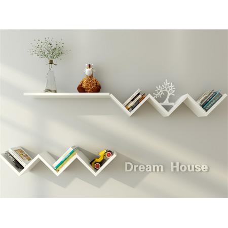 Modern Wall Book Shelf Fashionable Creative Floating Wall Shelf Bookshelf Home Decor Wall Bookshelves Hanging Bookshelves Wall Shelves Design