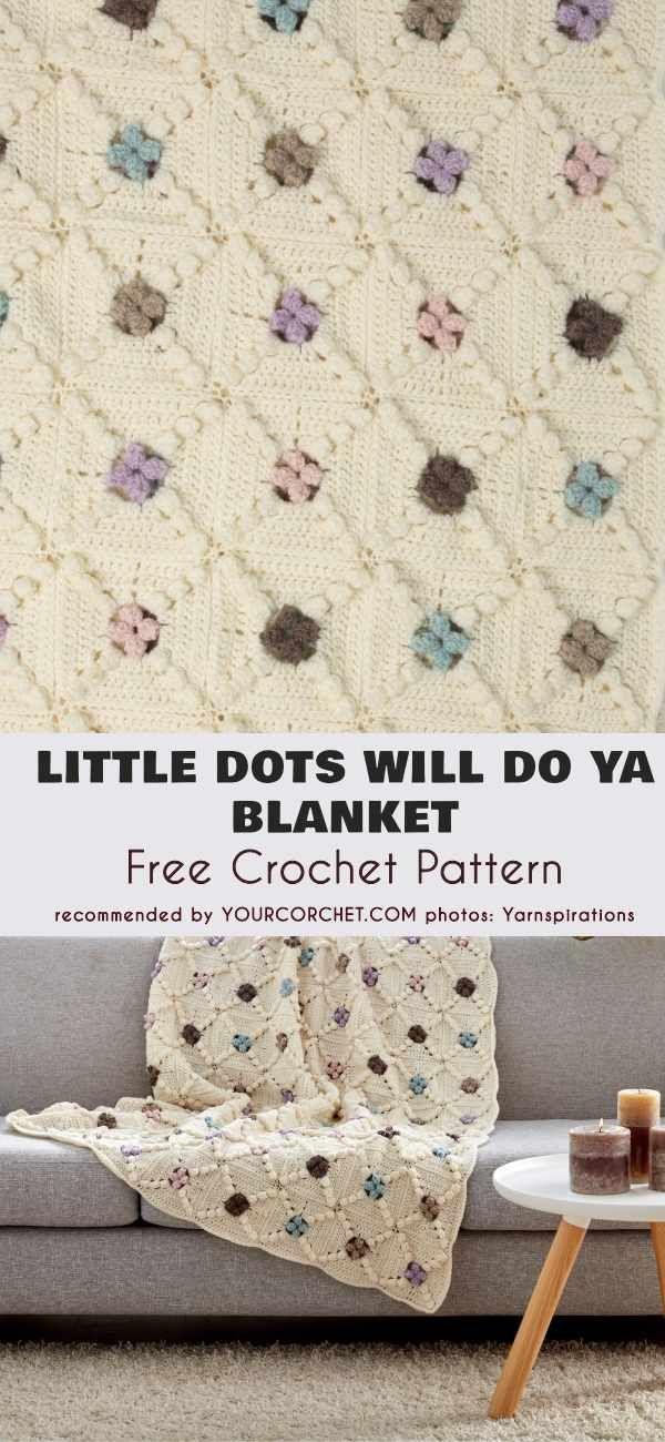 Little Dots Will Do Ya A Blanket Free Crochet Pattern | Free Crochet ...