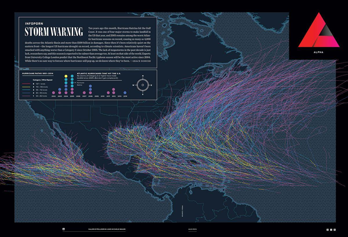 Wired Us Infoporn Hurricanes Storm Warning On Behance Web Design Webdesign Design