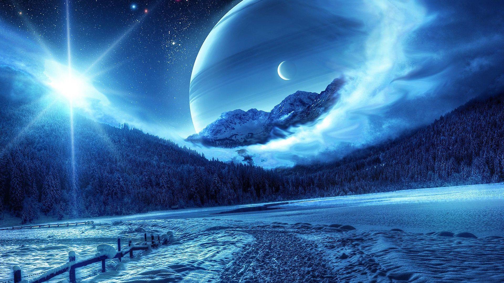 Fond d cran hd paysage fantastique fantastique for Photo fond ecran paysage