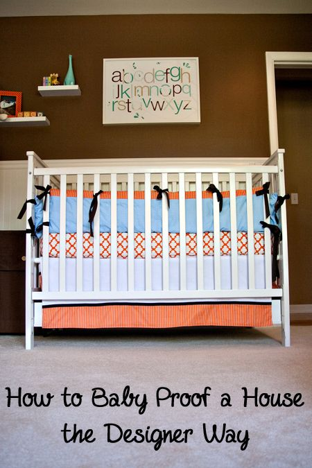 Everything Designish Baby Boy S Nursery: How To Baby Proof A House The Designer Way
