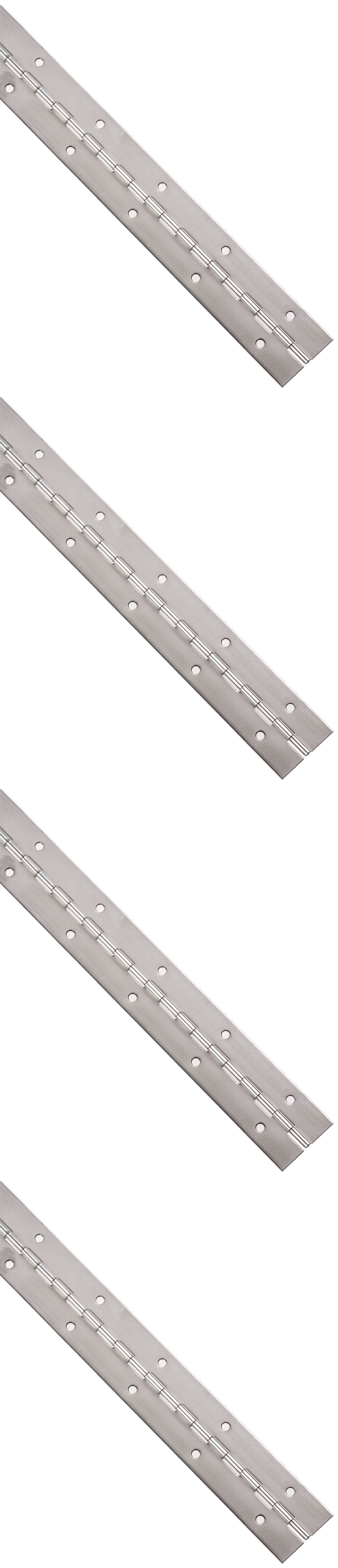 Door Hinges 66739 Stainless Steel 304 Sturdy Surface Mounted Continuous Piano Hinge With Holes Buy It Now Only 23 37 On Ebay Stainless Steel 304 Steel Door Hinges