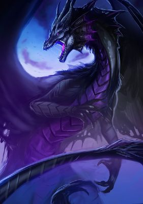 Photo of What Dragon Are You? | A Dark Dragon!