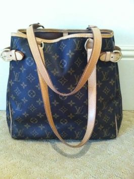 f0c745e17c19 Louis Vuitton Batignolles Vertical Monogram Canvas Tote Bag  669 ...