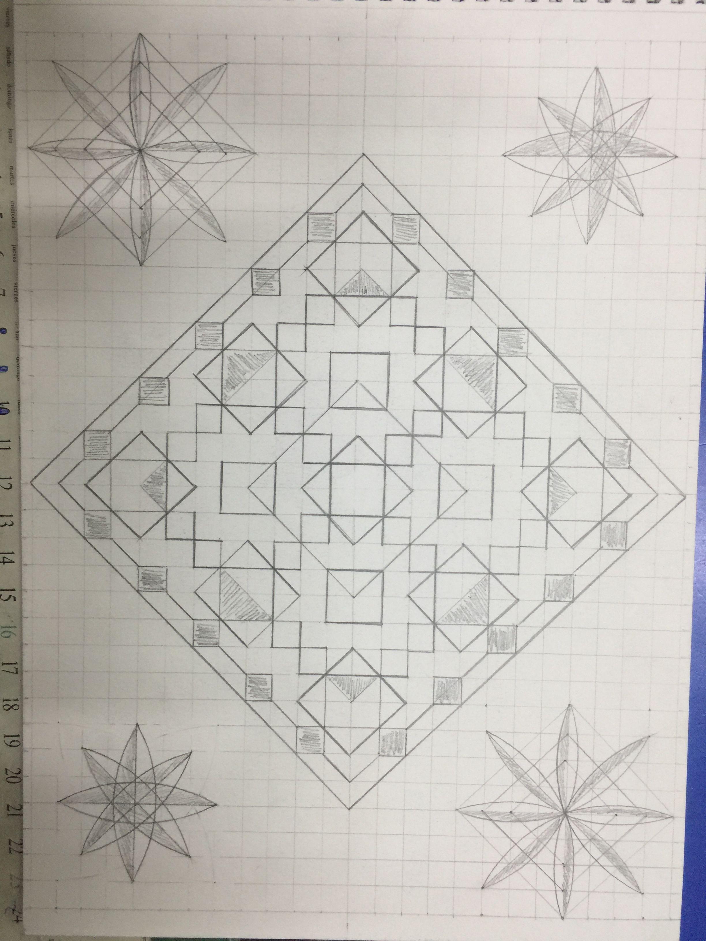 زخارف هندسية Geometric Shapes Drawing Geometric Shapes Graphic Design Background Templates