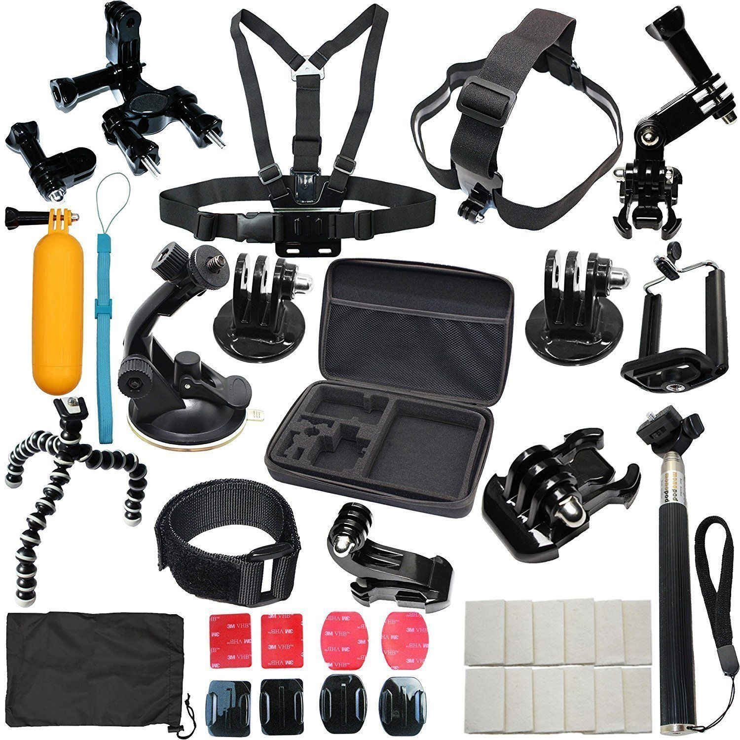 Fr Gopro Hero 7 5 4 6 3 2 Session Accessories Camera Mount Suction Cup Stick Kit Gopro Hero 5 Gopro Gopro Hero