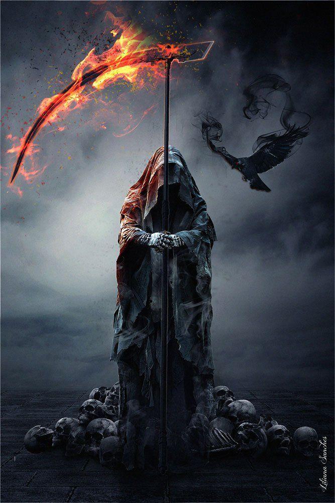 Empire Merchandising 668226 Liliana Sanches, Reapers Raven, Fantasy ...