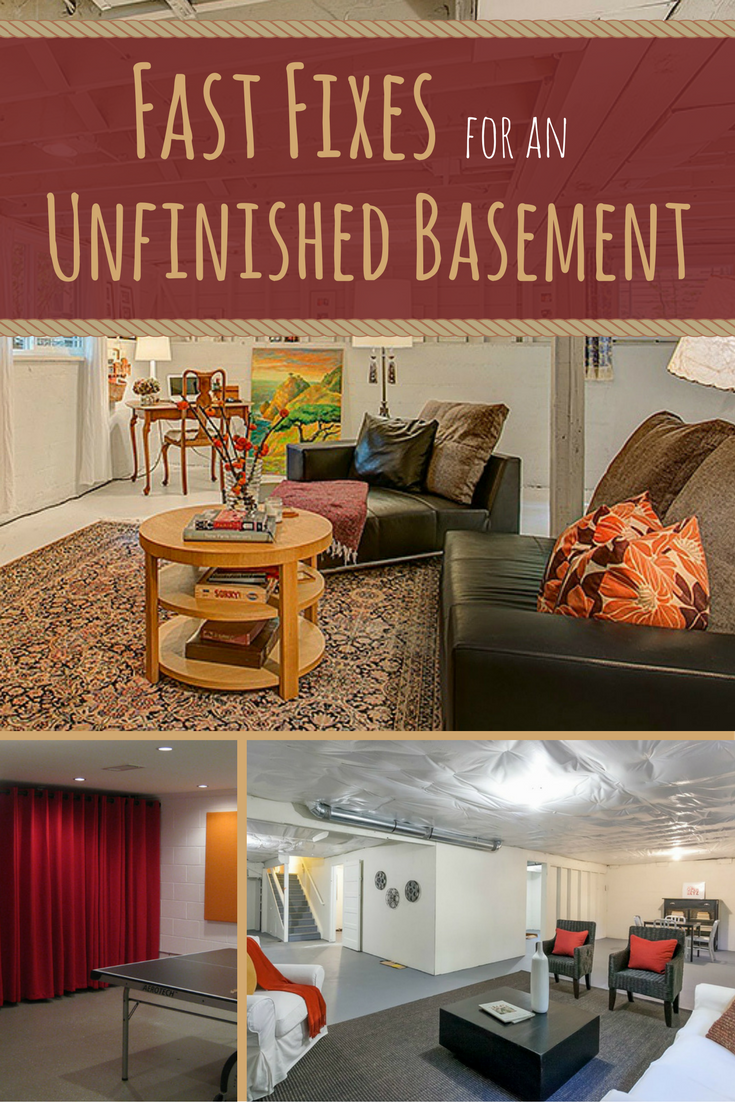 10 Shortcuts to a Not-So-Scary Basement | Basements, Creepy and Shell