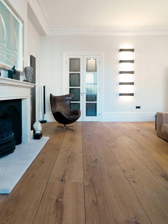 bildergebnis f r eichenbretter im flur einrichten und wohnen pinterest dielenboden eiche. Black Bedroom Furniture Sets. Home Design Ideas