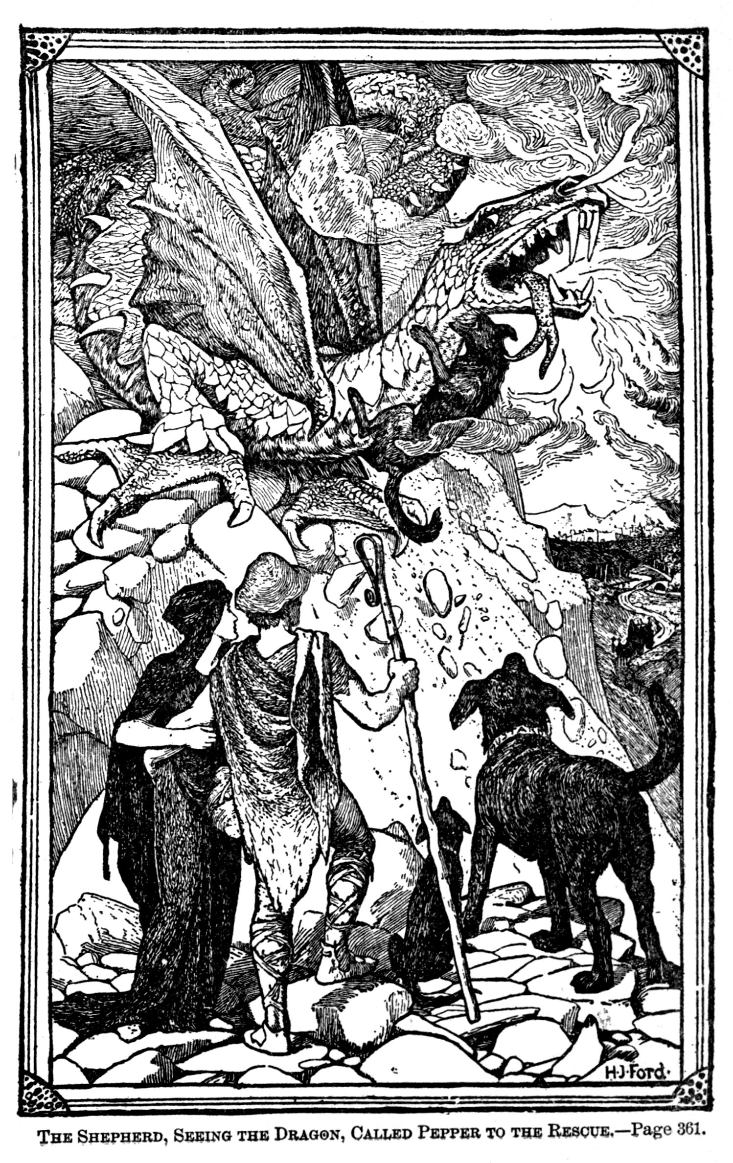 Henry Justice Ford The Green Fairy Book Edited By
